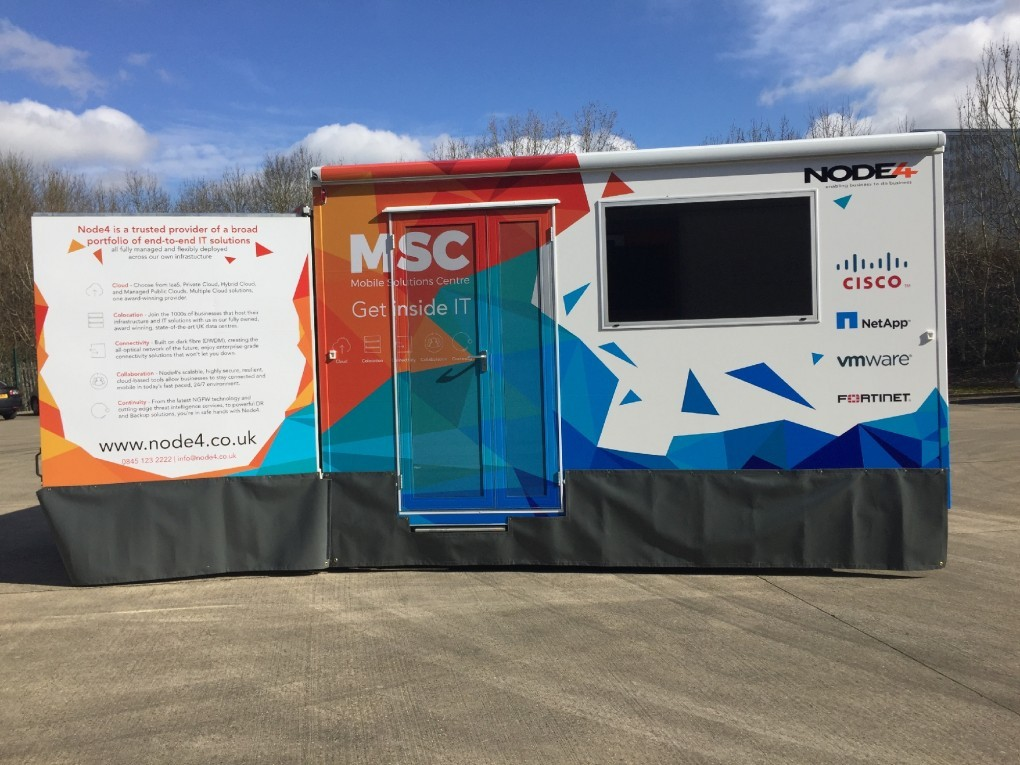 Mobile Exhibition Vehicle - Display frontage